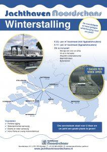 Winterberging poster